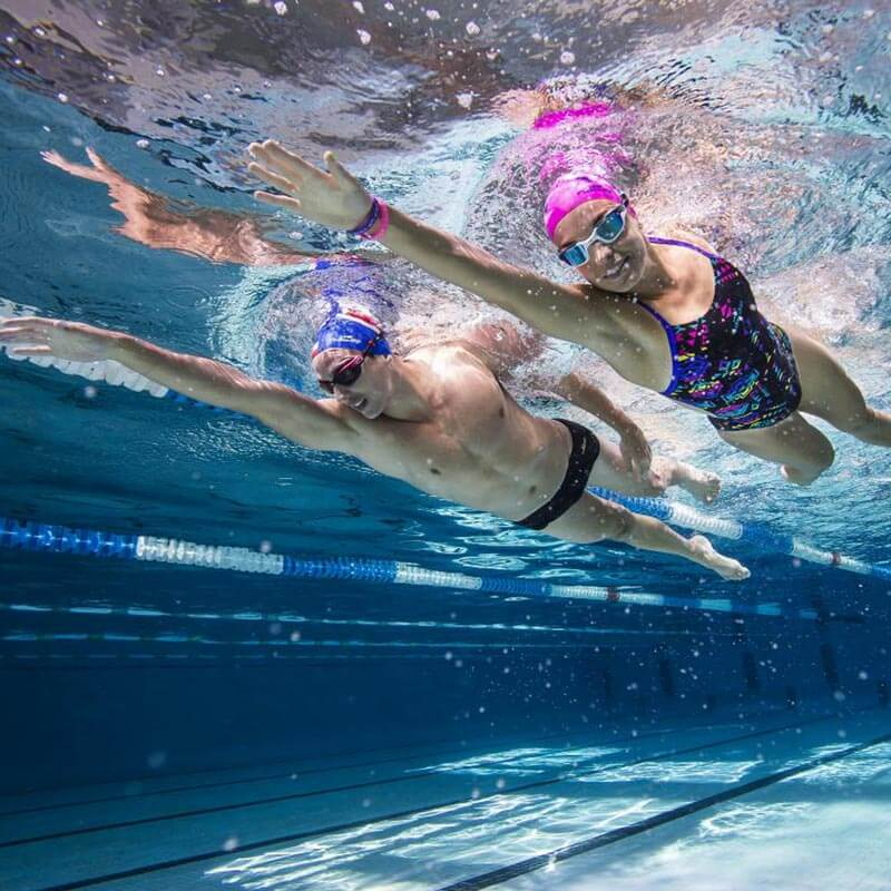 deux nageurs - Carouge-Natation