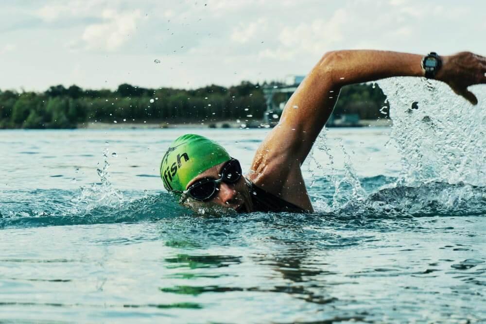 Triathlon nageur